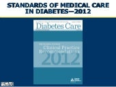 Ada standards of medical care 2012 ...