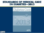 Ada standards of medical care 2013 ...