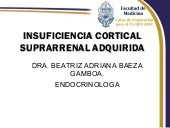 Insuficiencia Cortical Suprarrenal ...