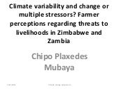 Mubaya: Climate variability and cha...
