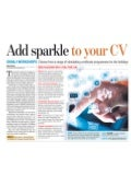 Add Sparkle to Your CV - Covered By Hindustan Times