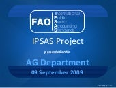 IPSAS Presentation to AG Senior Man...