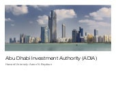 Managing Abu Dhabi's $627 Billion S...