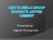 Aditya birla group to buy jaypees g...