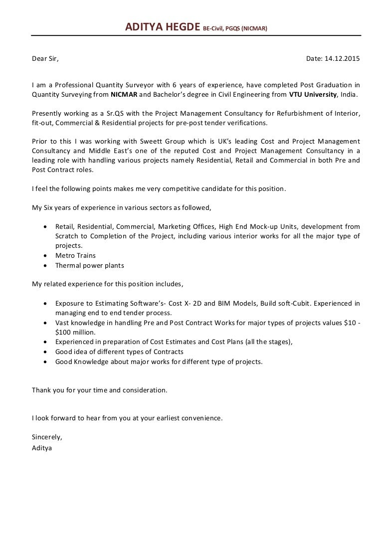 Mep Cover Letters