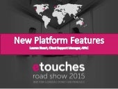 New etouches Platform Feaures - September 2015