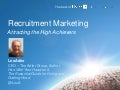 Sales & Marketing for Recruiting Professionals