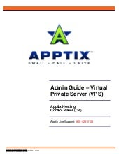 Admin Guide – Virtual Private Serve...