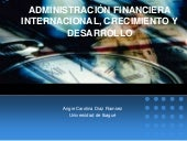 AdministracióN Financiera Internaci...