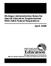 Michigan Administrative Rules for S...