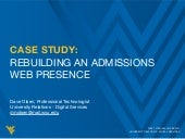 Case Study: Rebuilding an Admissions Web Presence