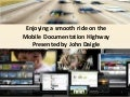 ADOBE DAY: Smooth Ride on the Moble Documentation Highway