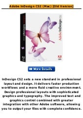 Adobe in design cs2 (mac) [old vers...