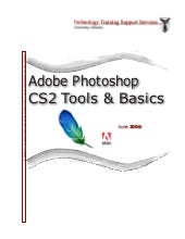 Adobe photoshop cs2 tools & basics