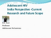 Adolescent hiv  indian perspective-...