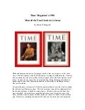 Adolf  Hitler    Time  Magazines  Man Of The  Year 1938
