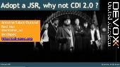 Adopt a JSR: CDI 2.0 at Devoxx UK