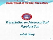 Adrencortical  hypofunction