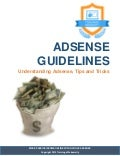 Adsense guidelines (Adsense Tips and Tricks)