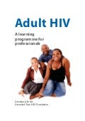 Adult HIV: Introduction