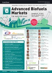 Advanced Biofuels Markets 2011