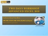 Advanced excel 2010 & 2013 updated ...
