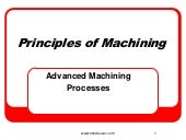 Advanced Machining Processes - Unco...