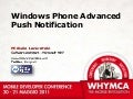 Advanced Push Notification Service
