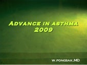 Advance In Asthma 2009