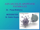 Advances in apoptotic pathways