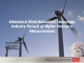 Advances in Wind Assessment Technol...