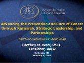 Advancing The Prevention And Cure O...