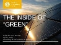 The Inside of Green: Advancing Renewable Energy in the Midwest