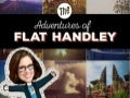 Adventures of Flat Handley at B2B Marketing Forum