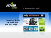 Adverplayer - 1er portail d'Adverga...