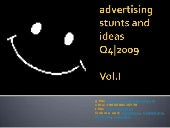 Advertising Stunts And Ideas  Q4|20...