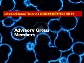 Advisory group members