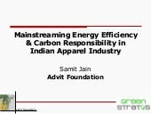 Advit Foundation - Energy Efficiency