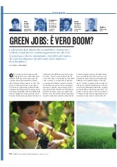Green Jobs: è vero boom?