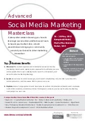 Advanced Social Media Masterclass i...