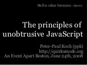 An Event Apart Boston: Principles o...