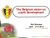 The Belgium Vision on Youth Develop...