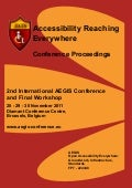 Conference proceedings 2011 AEGIS International Workshop and Conference