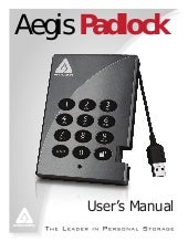Aegis padlock manual