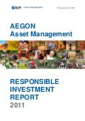 Responsible Investment Report 2011