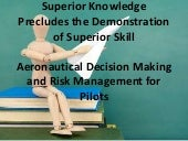 Aeronautical Decision Making And Ri...