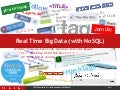 Real Time Big Data (w/ NoSQL)