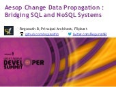 Aesop change data propagation