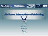 Air Force e-publishing 2010