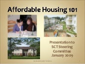 Affordable Housing 101